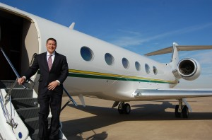 Brad Harris of Dallas Jet International specializes in ensuring an airplane for sale meets his client's needs