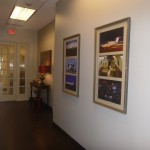 Common areas at DJI's offices in Colleyville TX