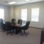 Conference room at Dallas Jet International's offices in Colleyville TX
