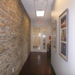 Common areas- great places for chance meetings and discussions about aviation transactions.